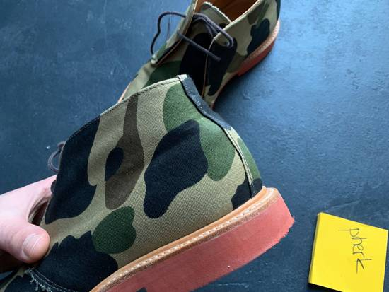 Mark Mcnairy New Amsterdam Mark McNairy x A Bathing Ape Forest Green Camo Chukka Boot Size US 8.5 / EU 41-42 - 9