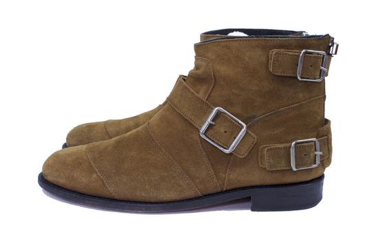 Balmain Balmain x H&M Tan Biker Boots Size US 10 / EU 43 - 1