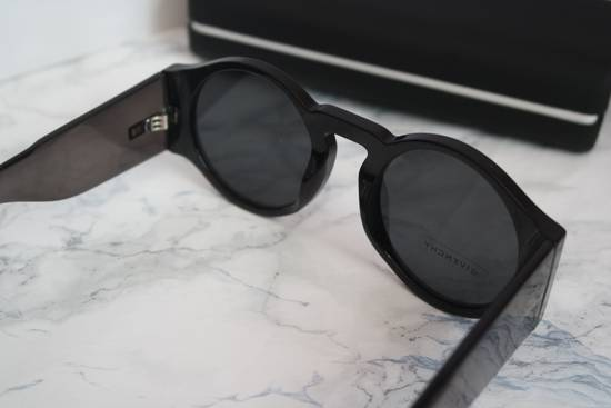 Givenchy NEW Givenchy 7056/S Black Round Thick Leg Circle Sunglasses Size ONE SIZE - 8