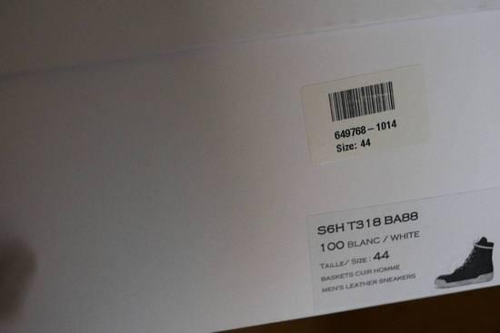 Balmain Balmain Authentic $1150 Leather White High Top Sneakers Size 11 Brand New Size US 11 / EU 44 - 9