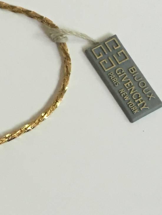 Givenchy 14KGP Givenchy Vintage Gold Razor Style Necklace Size ONE SIZE - 3