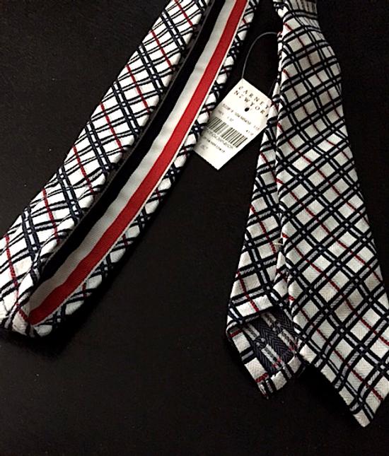 Thom Browne Plaid Jacquard Necktie NEW Size ONE SIZE