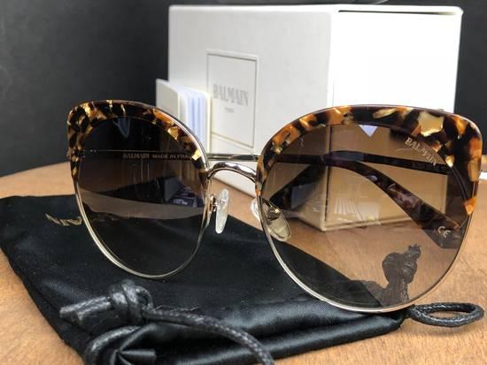 Balmain Balmain Black Gold Sunglasses BL 2509 Size ONE SIZE - 2