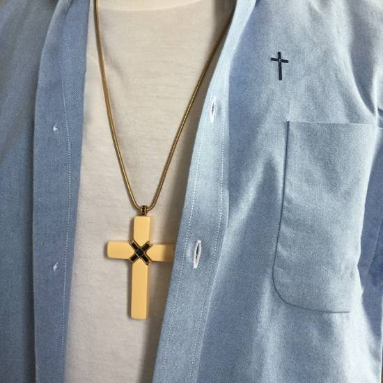 Givenchy 1976 Runway Jesus Piece Pendant Chain Size ONE SIZE - 1