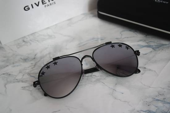 Givenchy NEW Givenchy GV7057/S 7057 Star Aviator Silver Mirrored Sunglasses Size ONE SIZE - 3