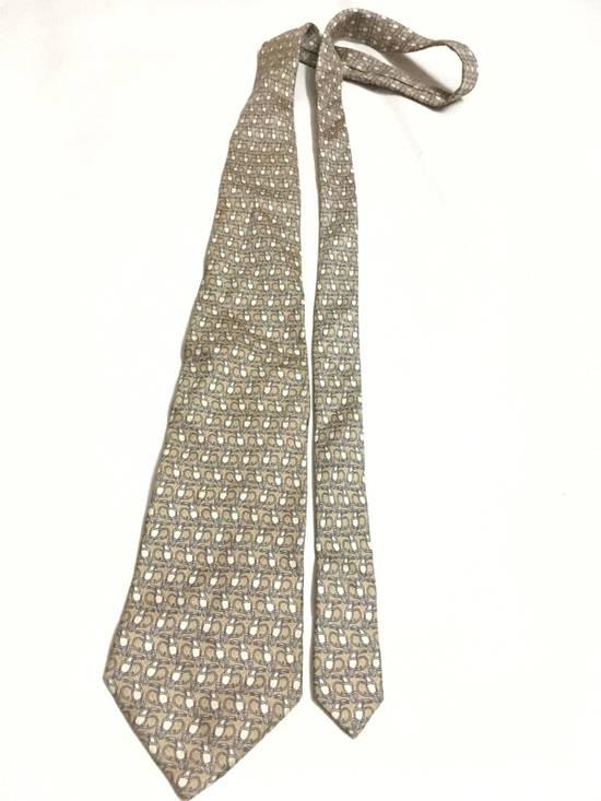 Balmain Vintage Balmain Tie Pierre Balmain Silk Necktie Animal Repeat Tie Size ONE SIZE - 2