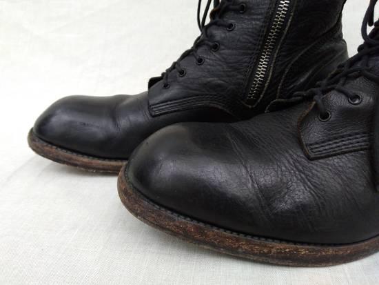 Julius f/w09 Tall Combat Boots Black Size US 11 / EU 44 - 5