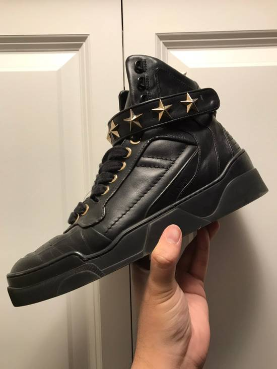 Givenchy Tyson Star Sneaker Black Gold Star Size US 11 / EU 44 - 13