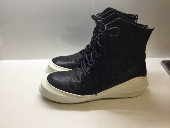 Julius Pebbled Leather Hi Top Liquid Sole Aw 2014 Size US 11 / EU 44 - 3