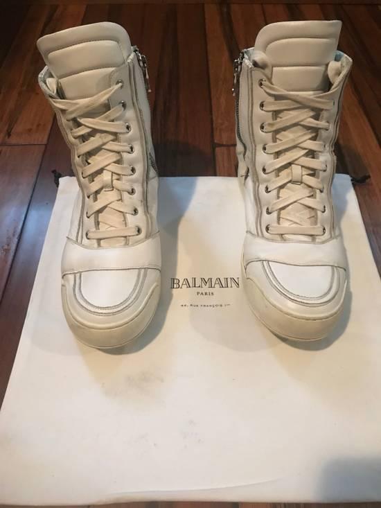 Balmain Balmain Leather High-Tops Size US 11 / EU 44