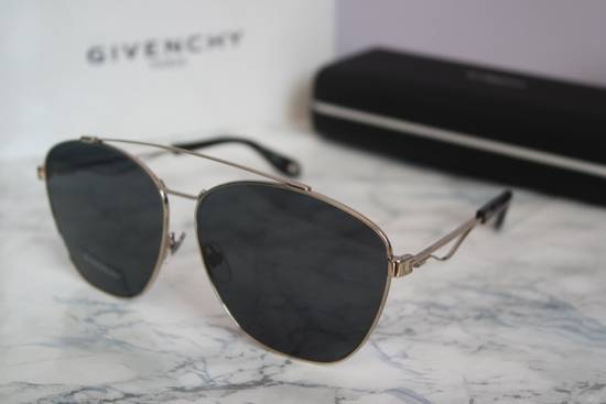 Givenchy NEW Givenchy 7049/S Oversized Double Bridge Aviator Sunglasses Size ONE SIZE - 6