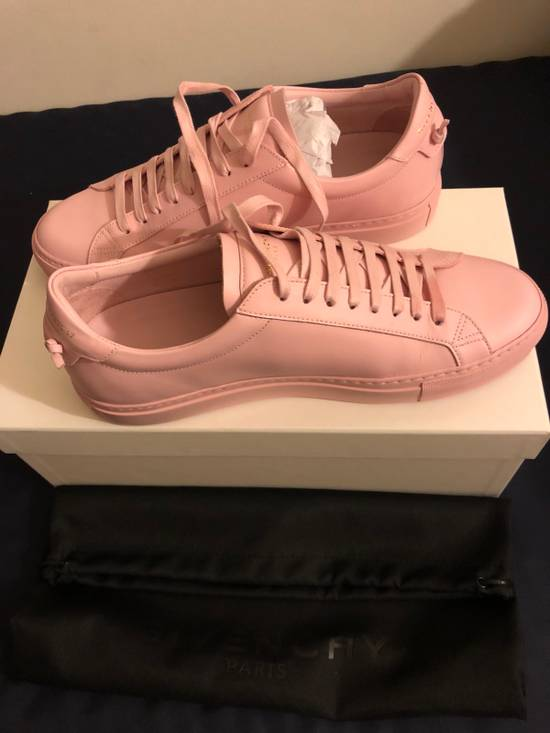 Givenchy Givenchy Pink Leather Low Top Sneaker Size US 7 / EU 40 - 5