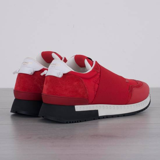 Givenchy Red Band Strap Sneakers Size US 11 / EU 44 - 2