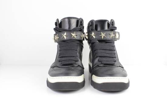 Givenchy Givenchy Black Leather High Tops Size 41 Size US 8 / EU 41 - 5