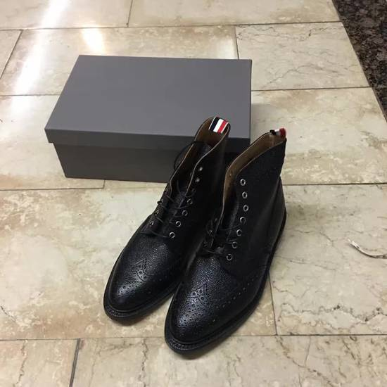 Thom Browne THOM BROWNE classic Leather Boots Size US 11 / EU 44