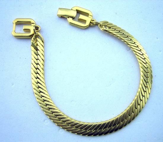 Givenchy Vintage Gold Plate Bracelet Size ONE SIZE
