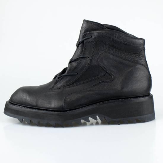 Julius 7 Black Pig Skin Leather Trekking Boots Shoes Size US 11 / EU 44 - 2