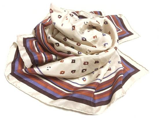Givenchy Givenchy Stripe Silk Scarf Abstract Silk Scarves Size ONE SIZE - 2