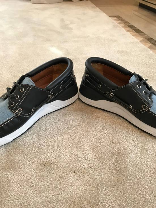 Givenchy Givenchy Denim And Black Leather Shoes Size 45 Size US 12 / EU 45 - 9