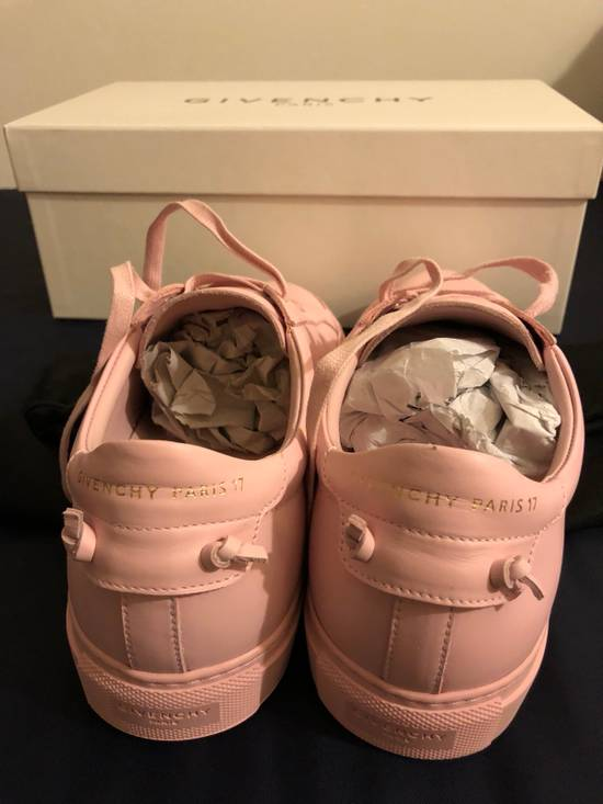 Givenchy Givenchy Pink Leather Low Top Sneaker Size US 7 / EU 40 - 2