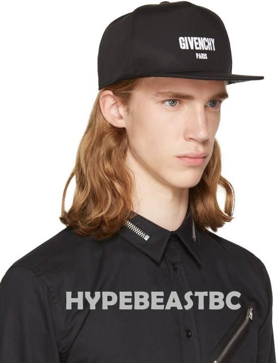 Givenchy Givenchy Paris Logo Cap Baseball Hat, Black, NWT Size ONE SIZE - 4