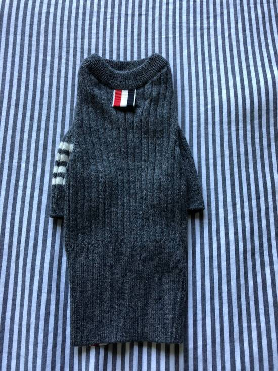 Thom Browne Hector Rib Knit Cashmere Dog Sweater Size ONE SIZE - 1