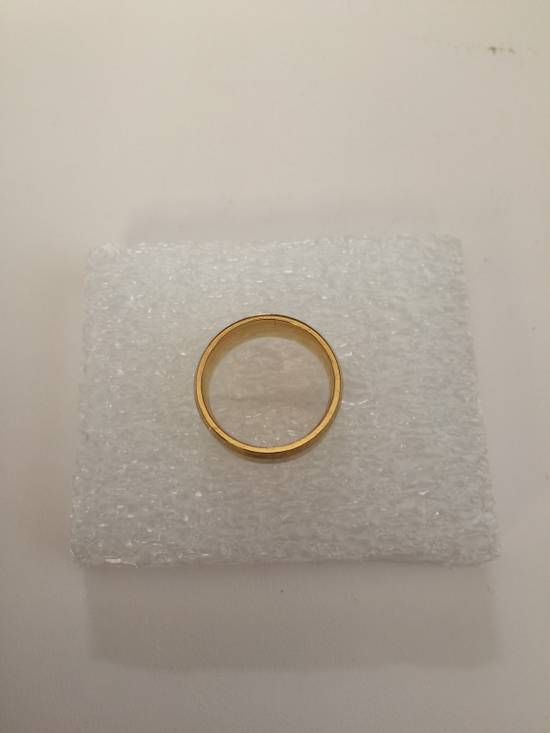 Jw Golden Stainless Steel Ring - size 8 Size ONE SIZE - 1
