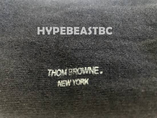 Thom Browne THOM BROWNE Socks 4-Bar Cashmere Silk Mid-Calf Socks, Navy, NWT Size ONE SIZE - 7