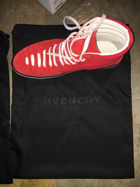Givenchy Red Givenchy High Tops Size US 7.5 / EU 40-41 - 9