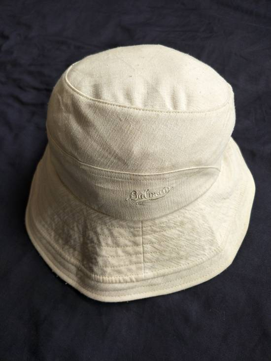 Balmain Authentic Classic Balmain Paris Bucket Hat / Luxury French Designer Monogram Spellout / Good Condition / Medium Size Size ONE SIZE