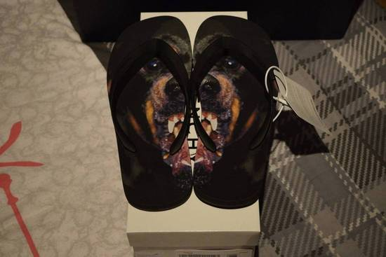 Givenchy Givenchy Authentic Rottweiler $550 Black Flip flops Size 12 Brand New Size US 12 / EU 45 - 2