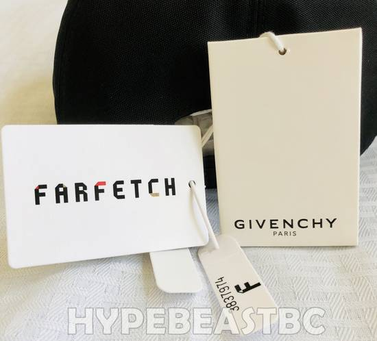 Givenchy Givenchy Paris Logo Cap Baseball Hat, Black, NWT Size ONE SIZE - 7
