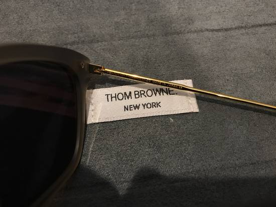 Thom Browne TB701 Crystal Grey / Gold Size ONE SIZE - 2