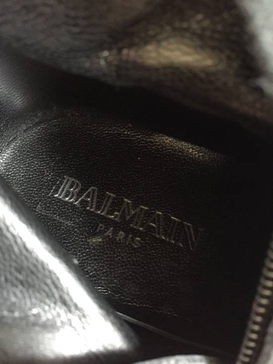 Balmain Decarnin Era 11' FW Combat Boots Size US 7 / EU 40 - 12