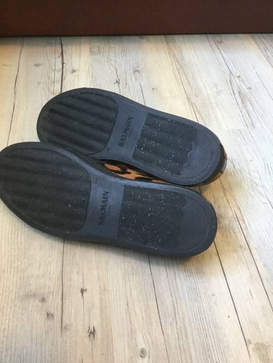 Balmain !GRAIL! Leopard slip-on sneakers Size US 7 / EU 40 - 6