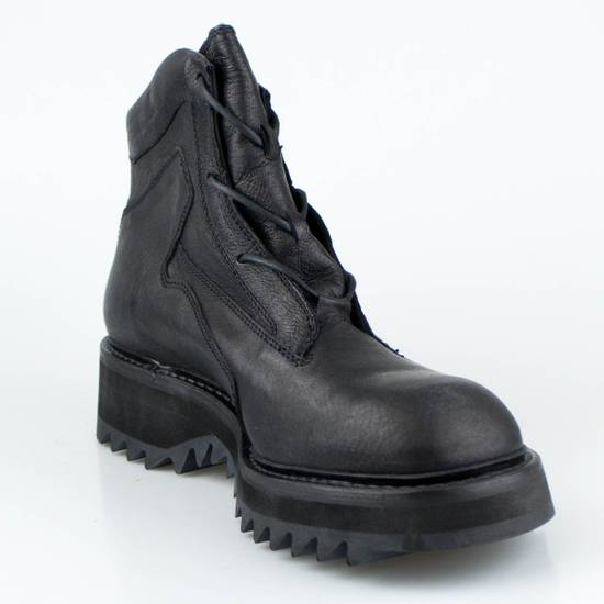 Julius 7 Black Pig Skin Leather Trekking Boots Shoes Size US 11 / EU 44 - 4