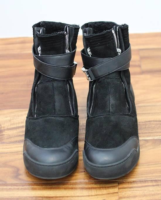 Balmain Shearling Sneakers Size US 10 / EU 43 - 1