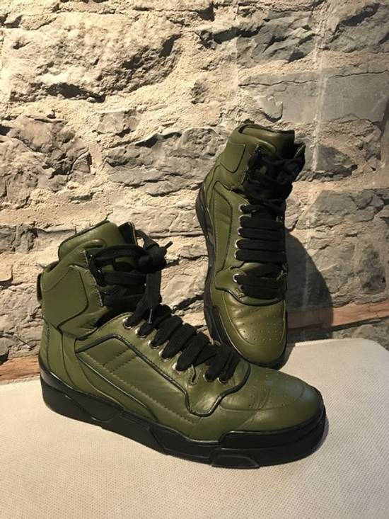 Givenchy Givenchy Green Tyson High-Top Sneakers Size US 11 / EU 44