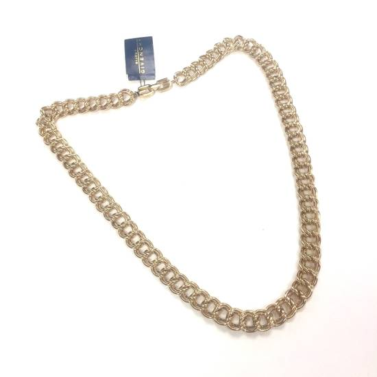 "Givenchy 30.5"" Heavy Gold Chain Necklace NOS Size ONE SIZE"