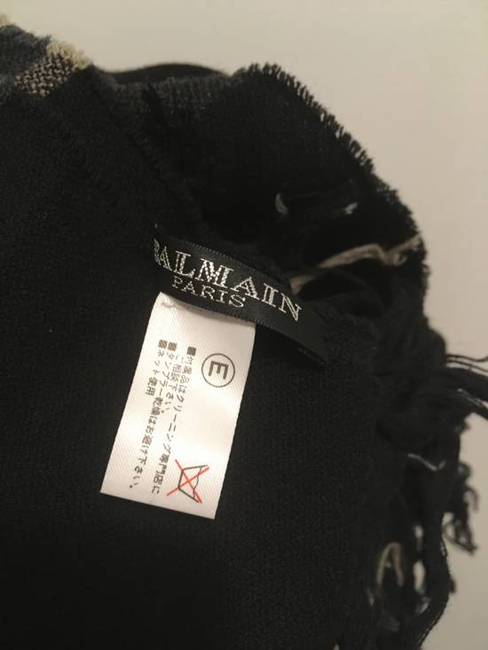 Balmain FW11 Wool/Cashmere Scarf Size ONE SIZE - 4