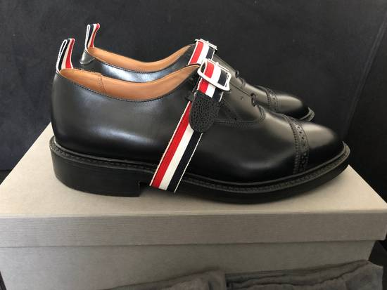 Thom Browne thom browne black pebble grain leather size 9.5US Size US 9.5 / EU 42-43