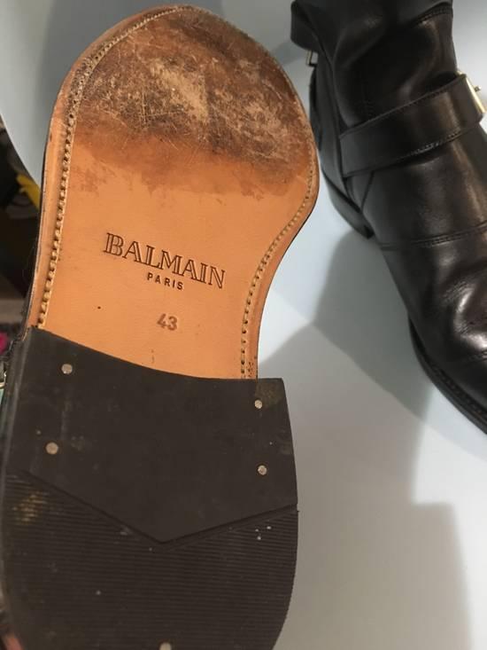 Balmain FW12 Biker Boots Size US 10 / EU 43 - 4