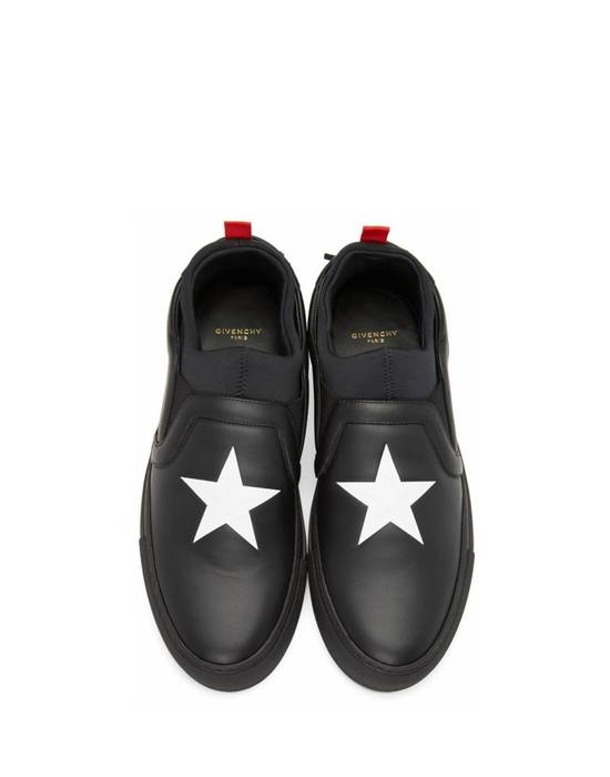 Givenchy Givenchy Star Slip-On Sneakers - Black (Size - 45) Size US 12 / EU 45 - 1
