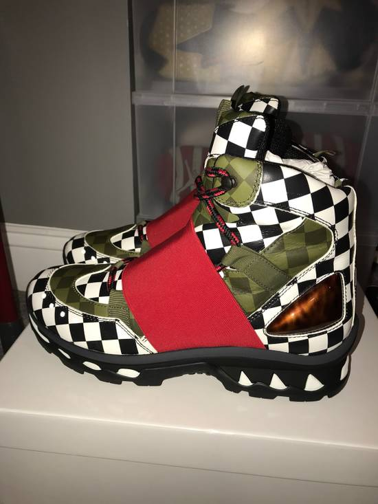 Givenchy Givenchy Show Trainer Shoe, MultiColored / Checkered, Size 43 Size US 10 / EU 43 - 2