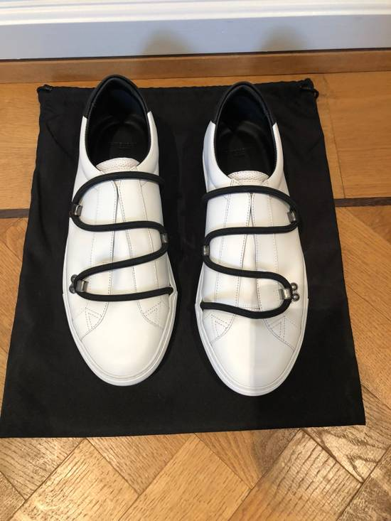 Givenchy Urban Sneaker By GIVENCHY In White Matte Leather Size US 8 / EU 41 - 2