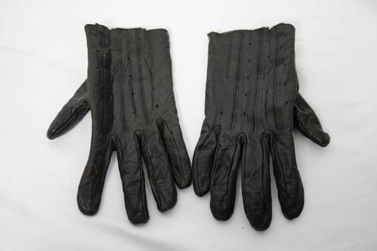 Julius AW09 Hammered Lamb Leather Gloves Size ONE SIZE - 2