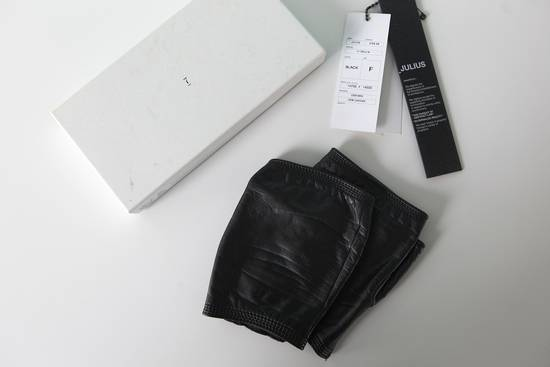 Julius Leather Gloves Size ONE SIZE