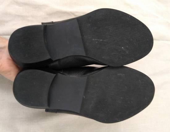 Julius Black Leather Zip Sandals s/s09 Size US 9.5 / EU 42-43 - 5