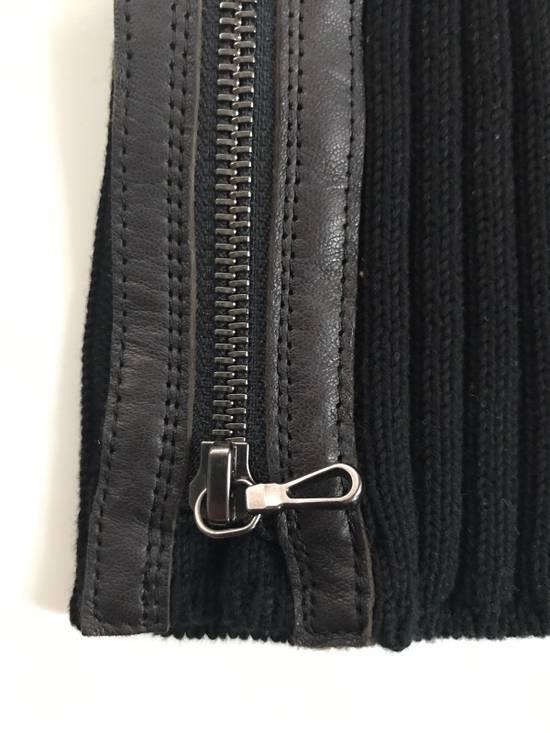 Julius Black Zipped Beanie Size ONE SIZE - 1
