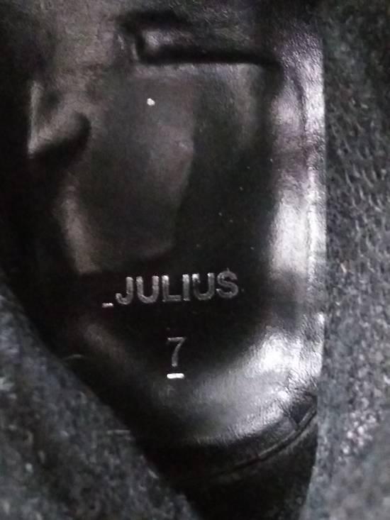 Julius f/w09 Tall Combat Boots Black Size US 11 / EU 44 - 12